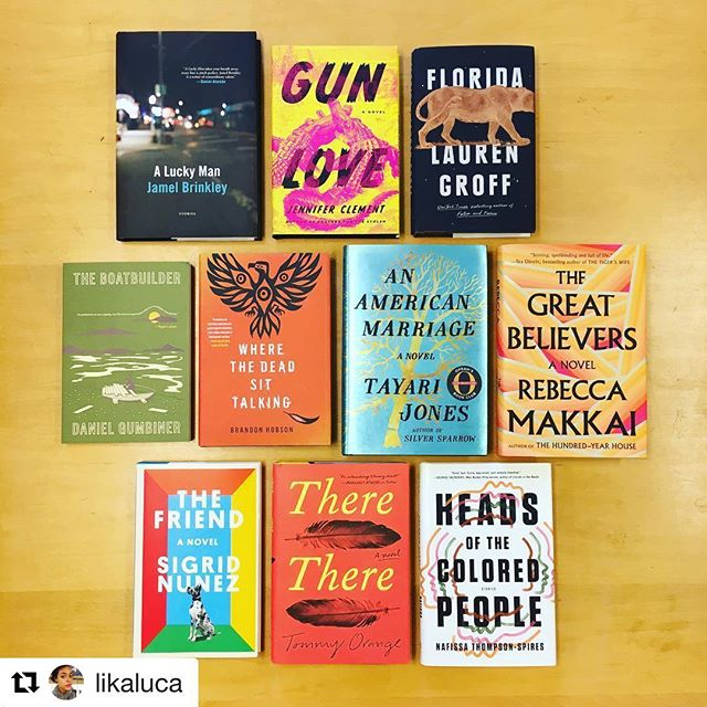 THIS LIST 😍💕🎉 #Repost @likaluca with @get_repost ・・・ Announcing the Longlist for the National Book Award in Fiction!!!!
