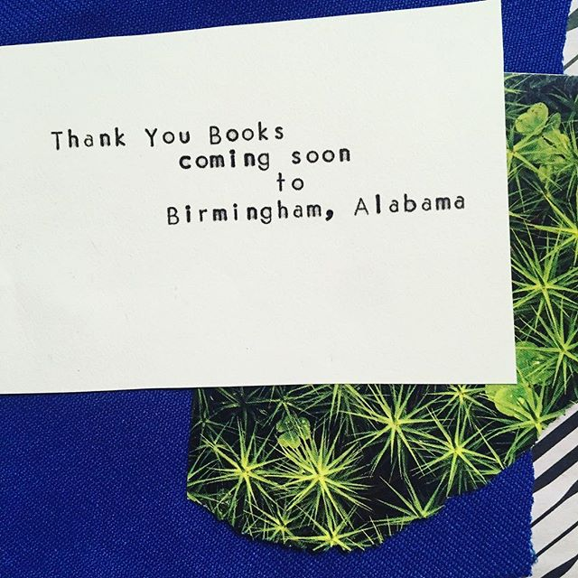 Oh hey, we've moved! Follow us at @thankyou_bham  See you soon, Birmingham!