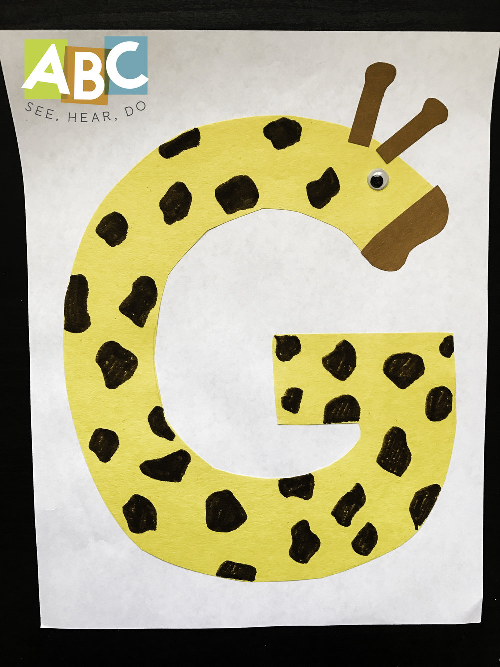 Letter G Crafts And Activities Abc See Hear Do