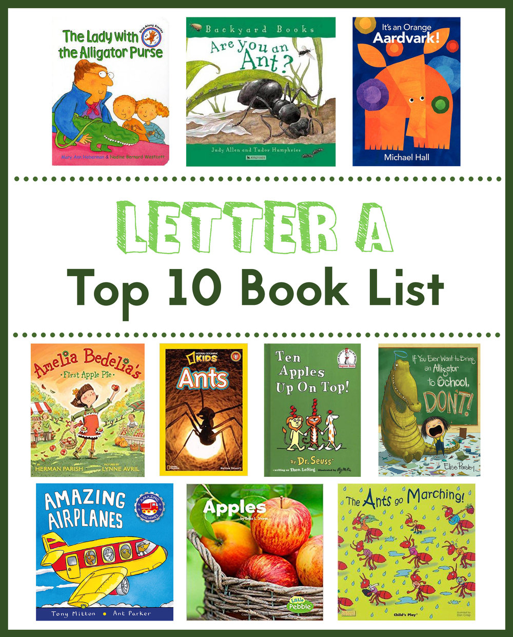 Blog abc see hear do check out our letter a book list spiritdancerdesigns Gallery