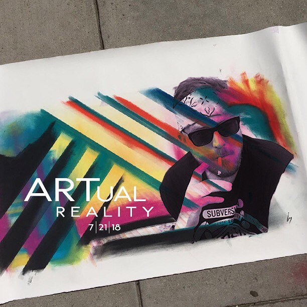Ticket sales start this week. Are you ready to experience our #ARTualReality 🙌🏽? Graphic created by @coolgeek_ featuring art by @scottseeborg ! Tap for featured artists. #thewabisabisociety #igdc #acreativedc #bythings #dcart #performanceart #epicyoga