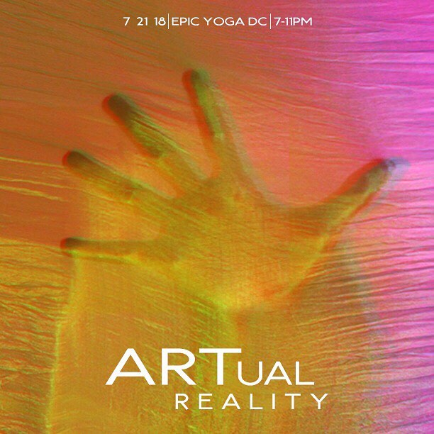 EARLY BIRD SALE ENDS TODAY 🖐🏼. ART & 3 DRINKS for ONLY $37.95!!! Tap for participating artists 🙌🏽. Graphic by @coolgeek_  #artualreality #thewabisabisociety #igdc #acreativedc #bythings #dcart #epicyoga #dancedc #dcartist #dcarts