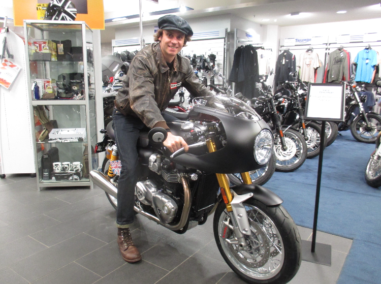 Another happy Triumph owner!!
