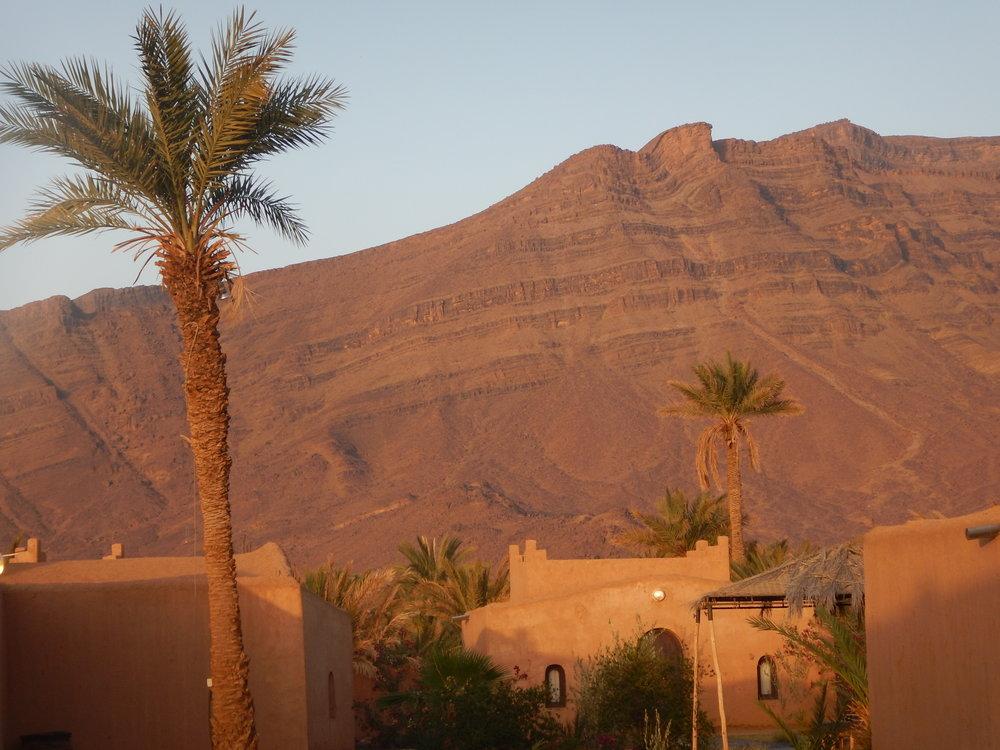 Sunrise near the Sahara