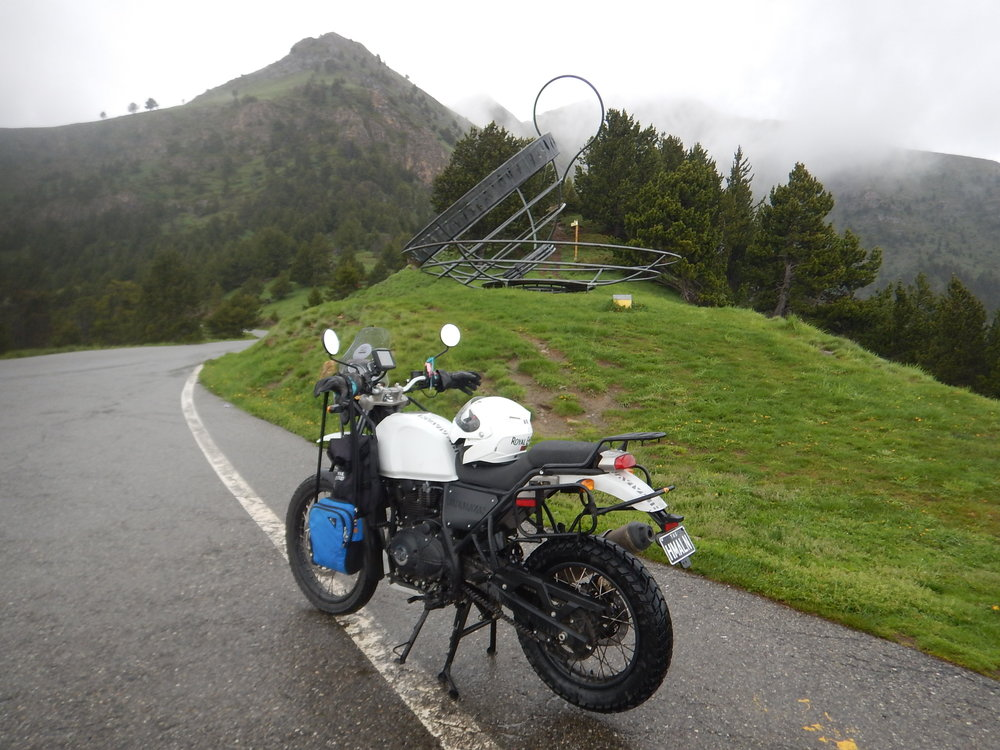 this teacup in Andorra was just too big to load onto the bike.