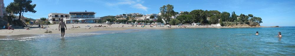 beautiful little beach on the Spanish Costa Brava.