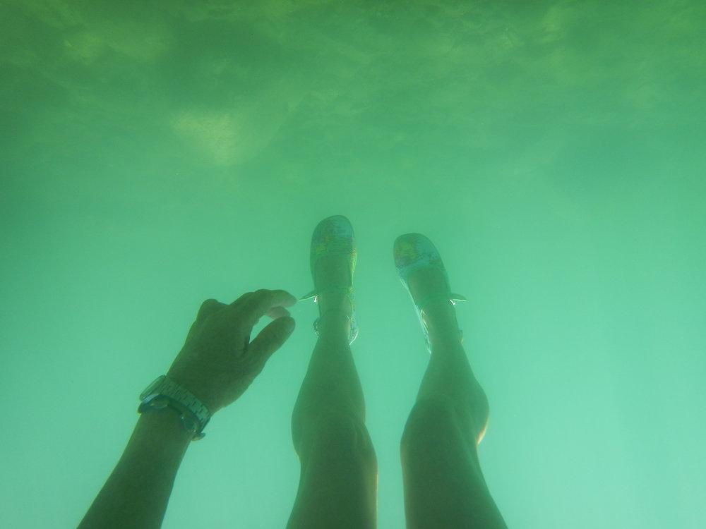 Sea legs in Lake Maggiore, Italy
