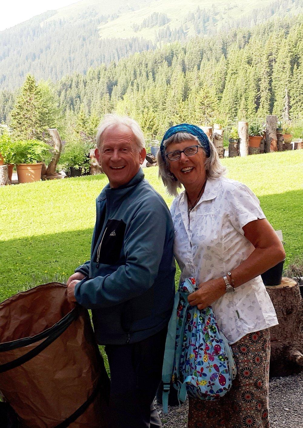 Klaus Oetjen, Master Gardener and Garden Director of Schatzalp Alpinum.