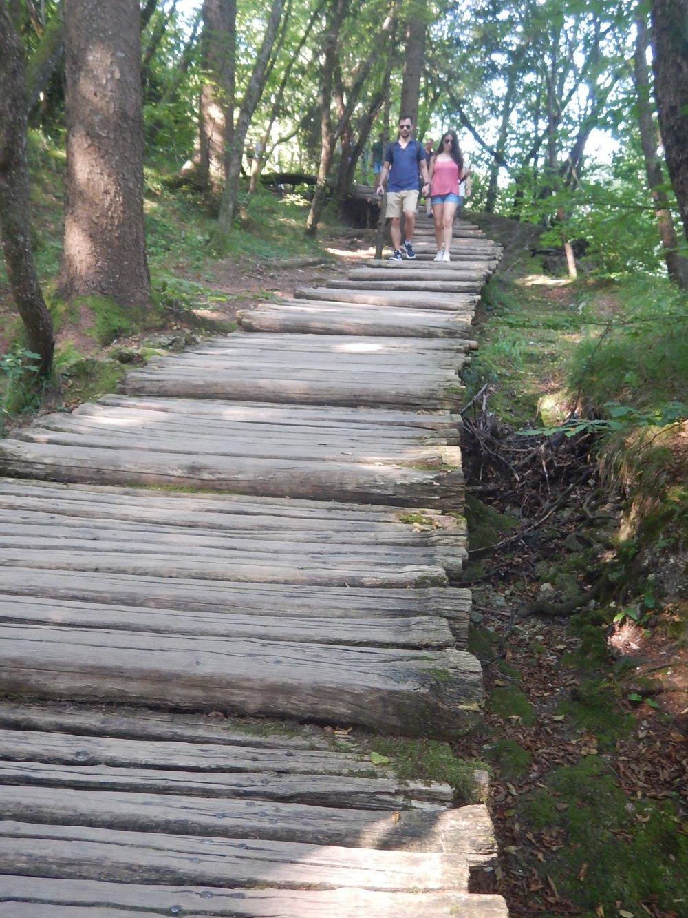 more steps on the boardwalk