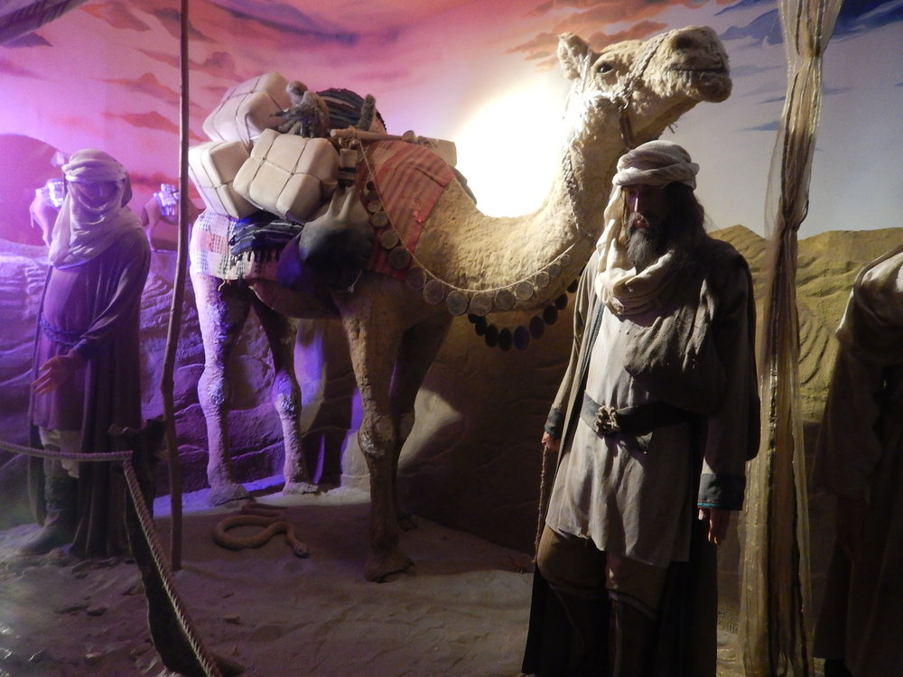 He trekked by camel to china and there he stayed for 17 years as an advisor to Kulbai Khan.
