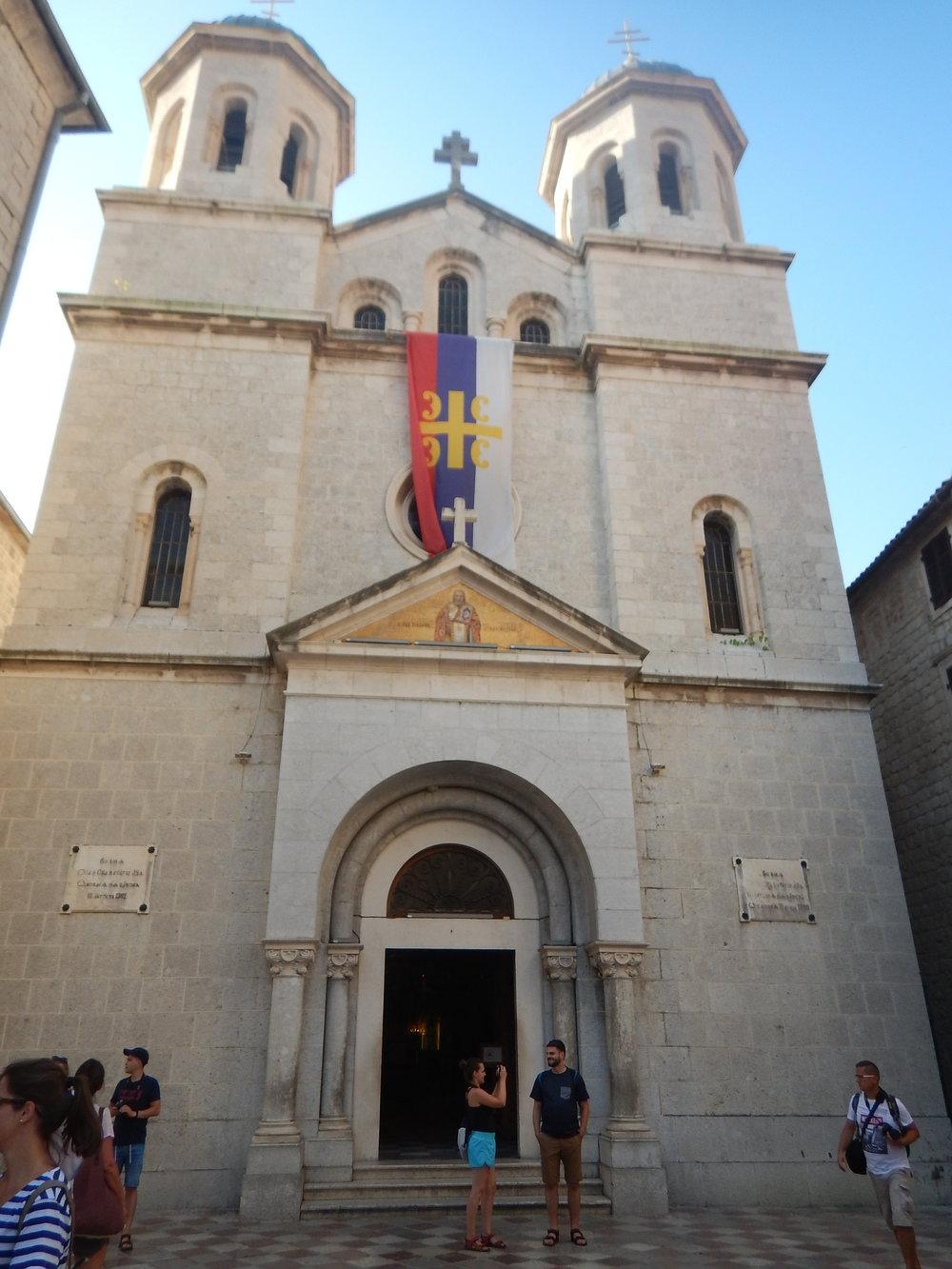 St Nicholas Church in Kotor, Montenegro