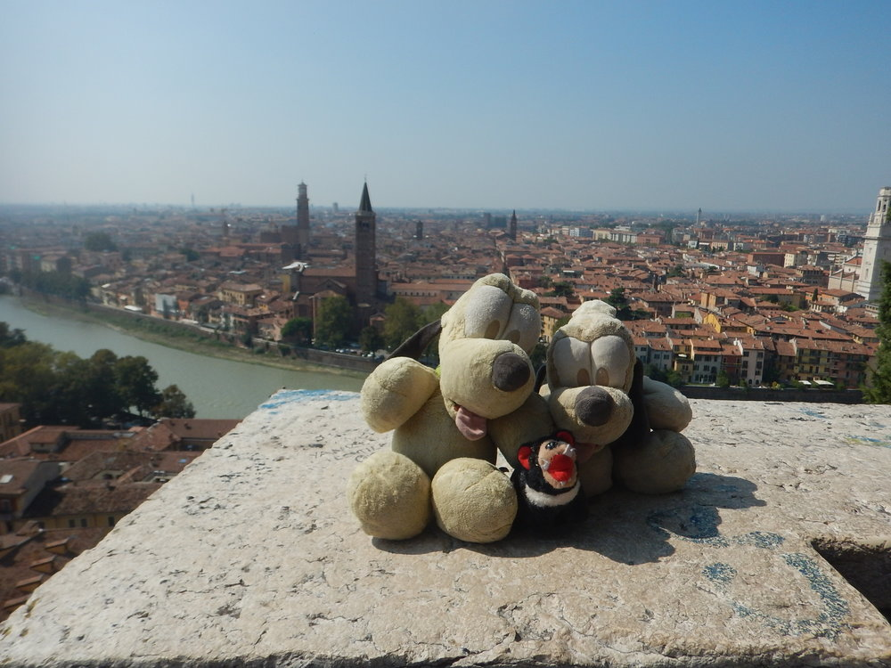 Harri found love, overlooking the city from St Peters Church.