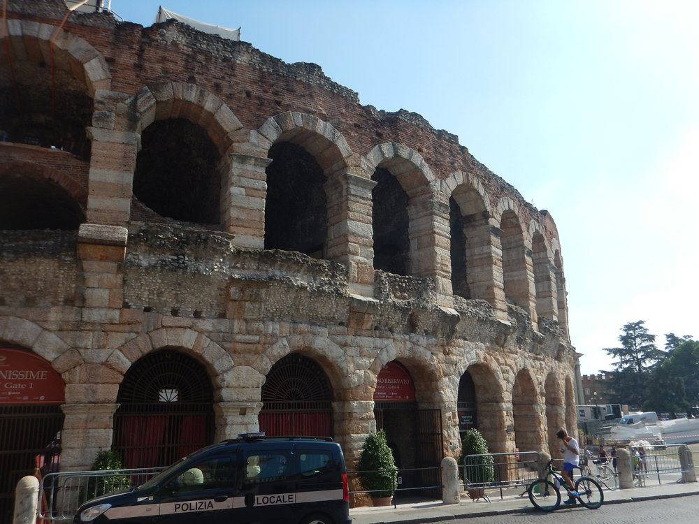 And for me the most spectacular building was the arena. It is still used for concerts. That would be an amazing experience.