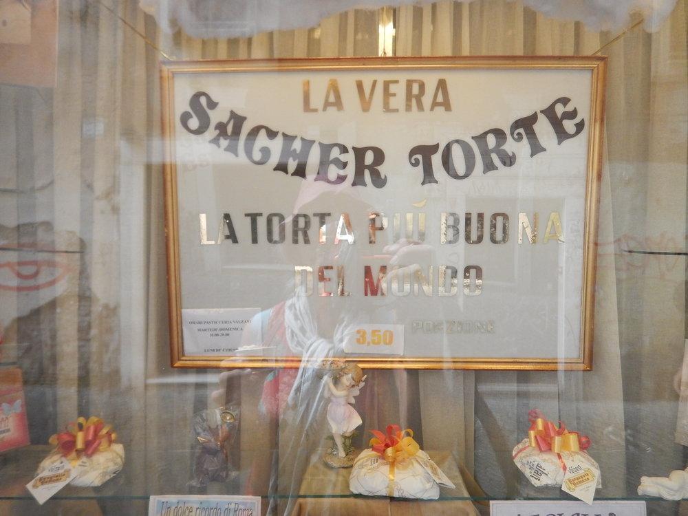 Sachet Torte