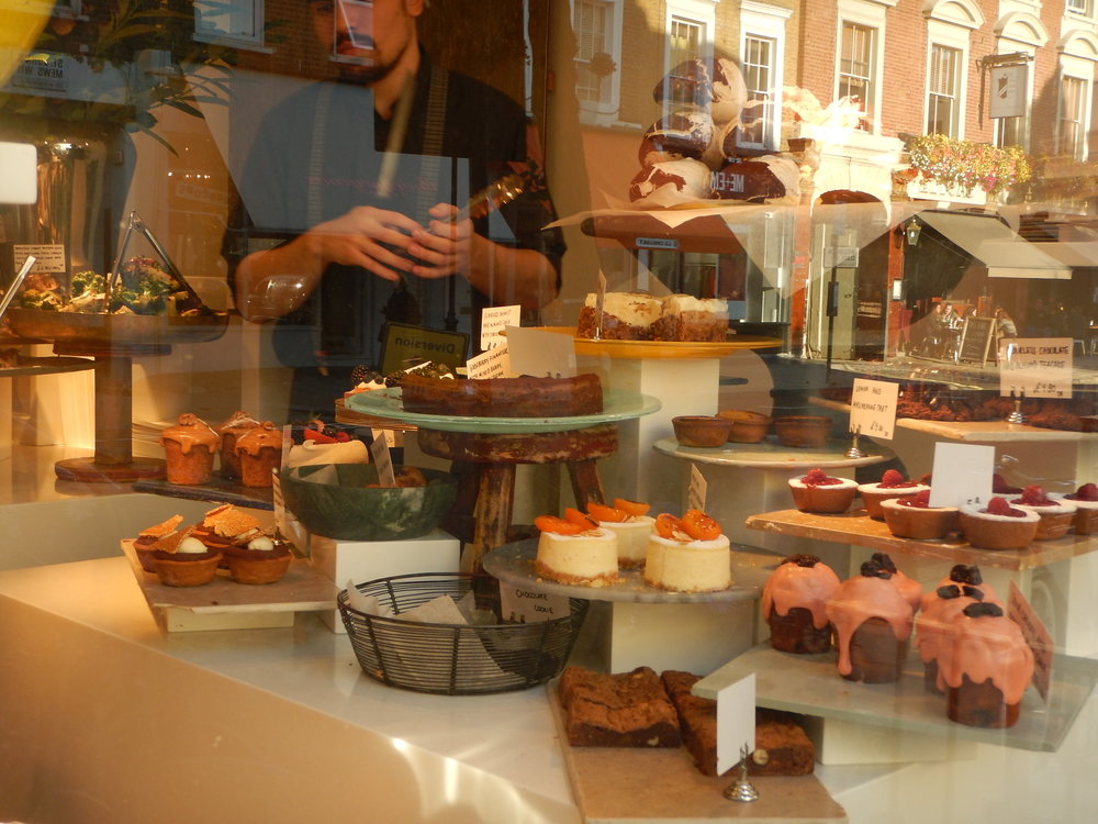 The front window, dripping in yumminess.