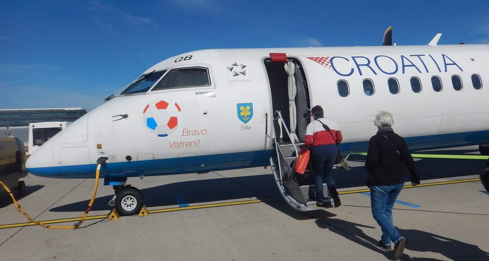 I'm no soccer fan but I did get enthusiastic about Croatia in the World Cup. To me, they won it!! And the Airline is very proud of their efforts.