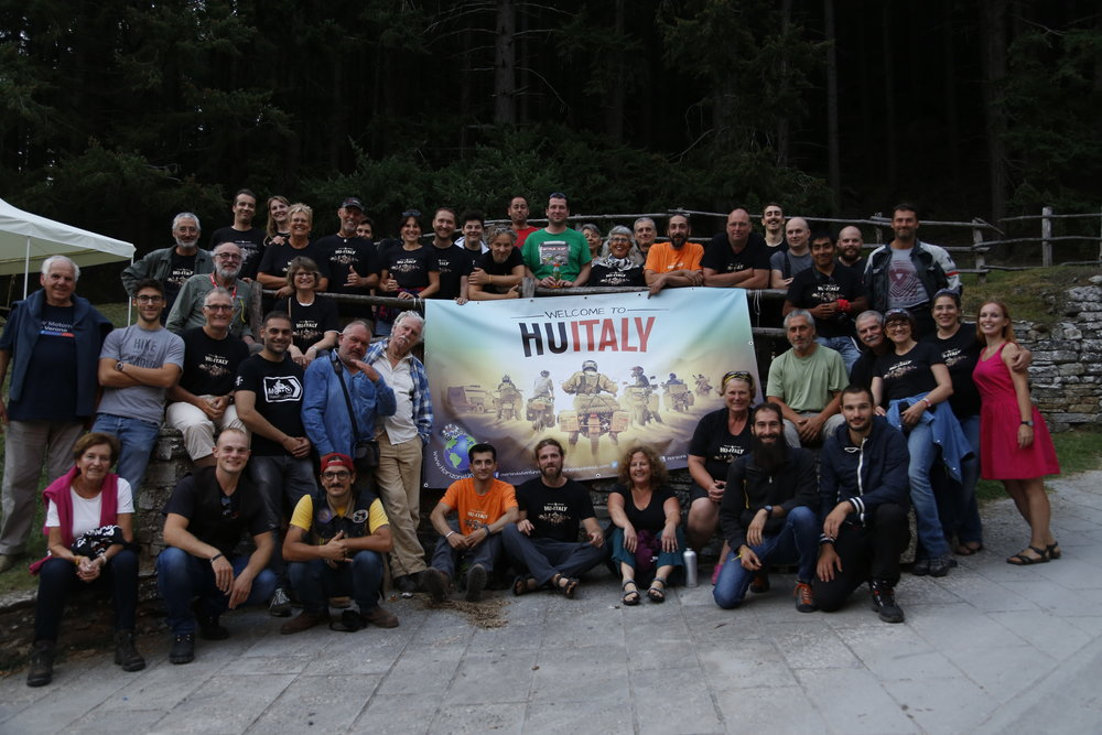 First HU Gathering in Italy.