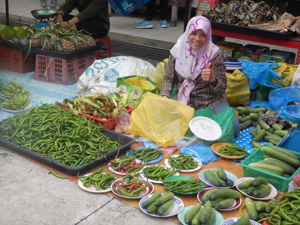 Plenty of green veggies for me.