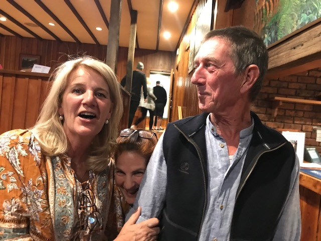 Steve and Maryanne. I don't think they realise Debora has photo bombed them. They have made a significant donation to www.preemptivelove.org