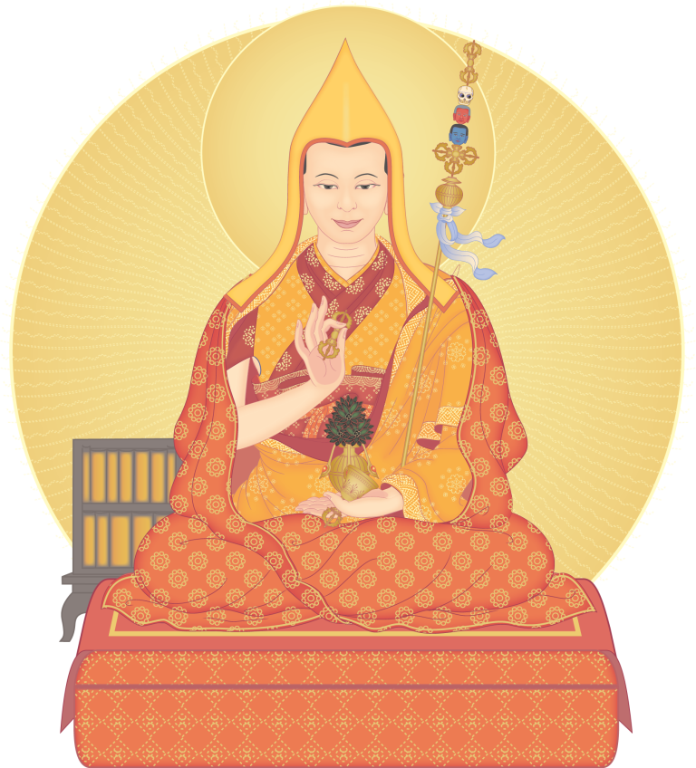 In recent years, Kadampa Buddhism has been promoted widely throughout the world by the contemporary Buddhist Master, Venerable Geshe Kelsang Gyatso
