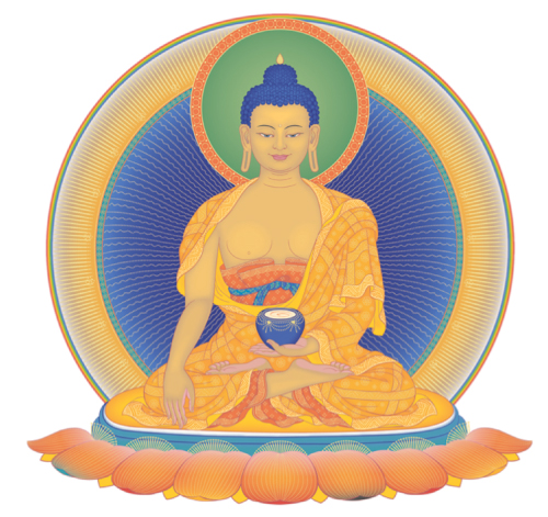 By practicing Buddha's teachings we protect ourself from suffering and problems