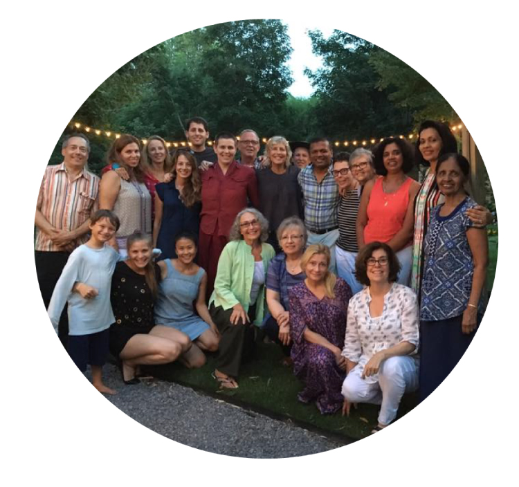 Our community of meditators and practitioners at KMC The Hamptons