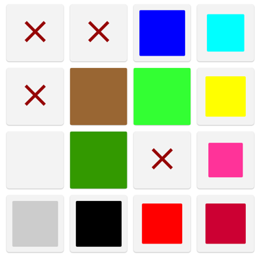 A sample ColourGrid™