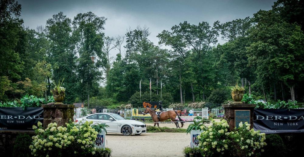 Monmouth at the Team, held in August, is another hunter/jumper competition supported by Gladstone Equestrian Association. Photo by Ric Shaffer Photography
