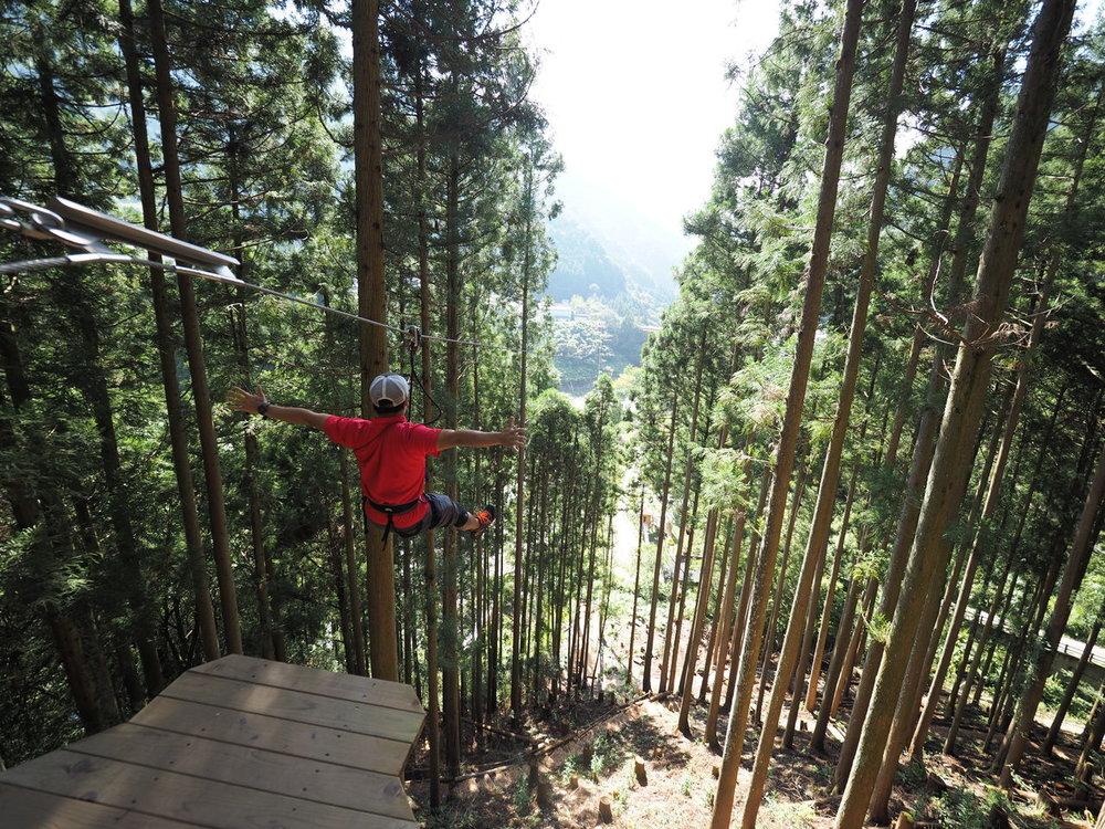 Zipline Forest Adventure Iya Valley