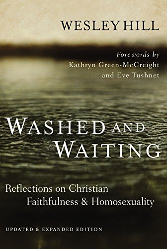"Washed and Waiting - Reflections on Christian Faithfulness & HomosexualityIn Washed and Waiting, Wesley Hill writes for gay Christians and those who love them. Part-memoir, part theological reflection, he shares the struggles that gay Christians face as they seek to live faithful to God's ""no"" to homosexuality. The updated edition includes a new afterword by Hill that continues his story since the book first released."