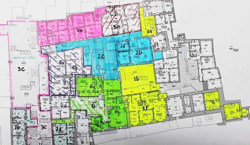 Dar al-Consul Zonation Plan