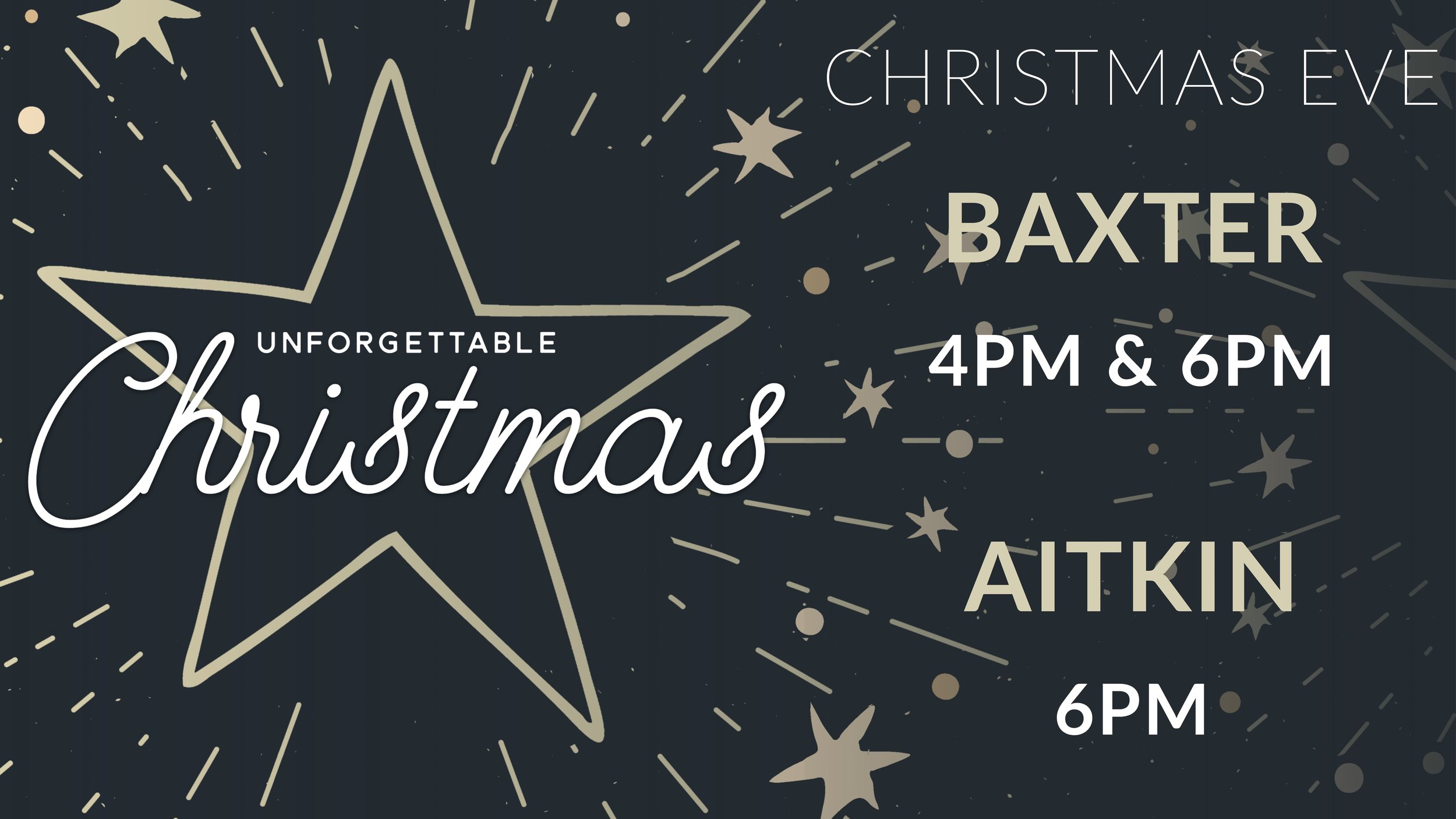 Christmas Point Baxter.Events Heritage Church