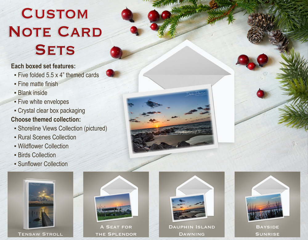 Custom Note Card Sets