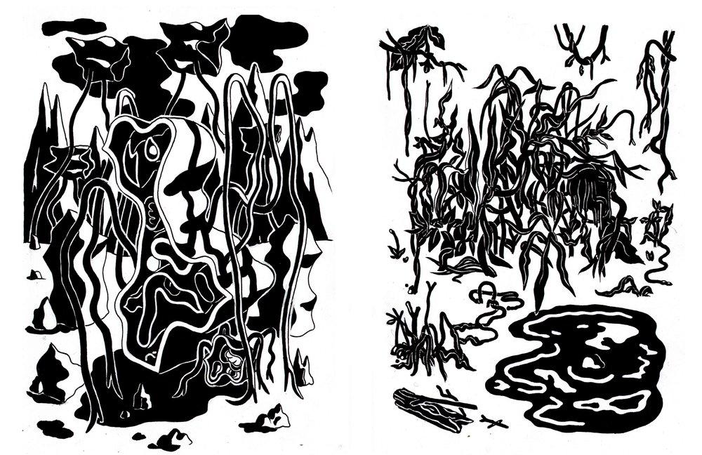 Spinnengeister 3 & 4