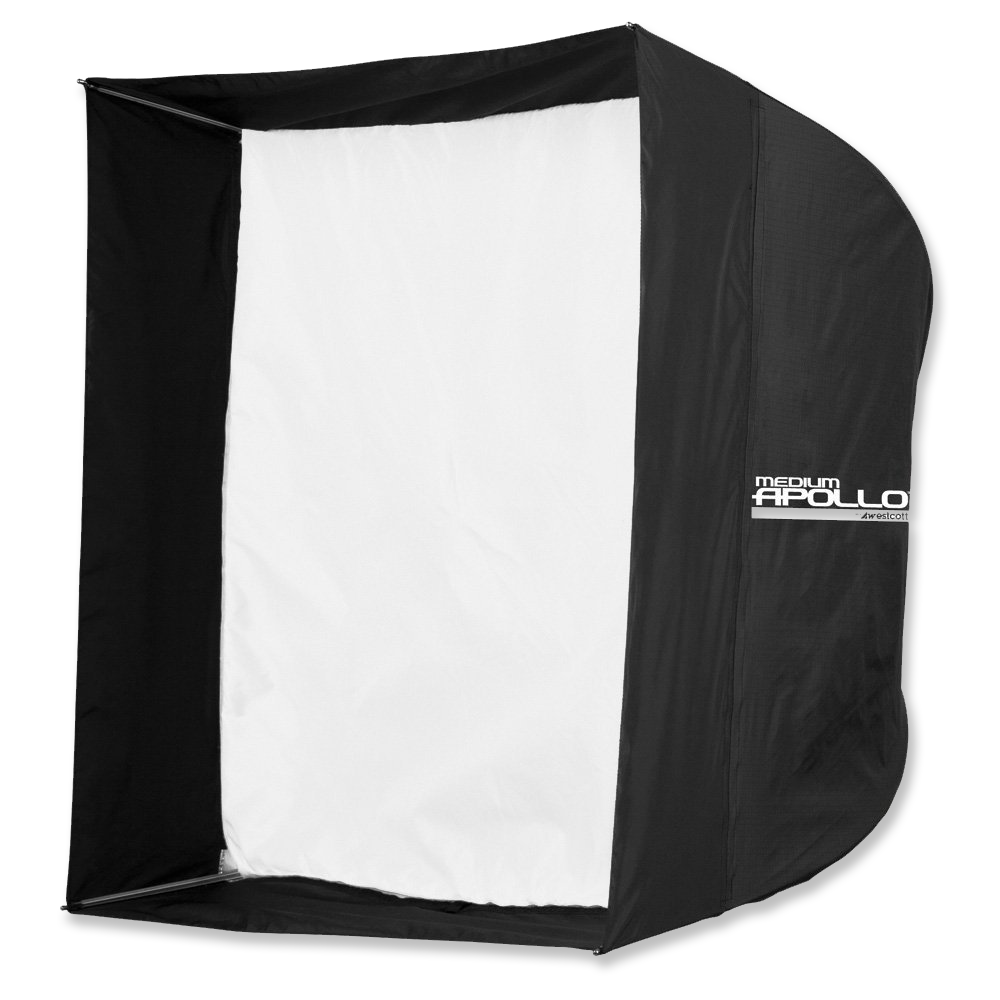 """Westcott Apollo 28"""" Softbox  -  Amazon   Great for softening a light source. Pairs great with a grid to control light spill. Uses an umbrella mount."""