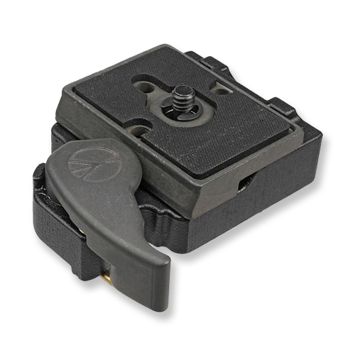 Manfrotto RC2 Quick Release System  -  Amazon   For easy swapping between gimbal and tripod.