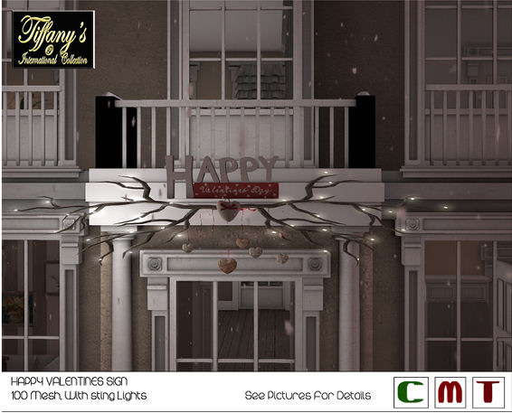 Tiffany's Collection - Happy Valentines Sign Main.jpg