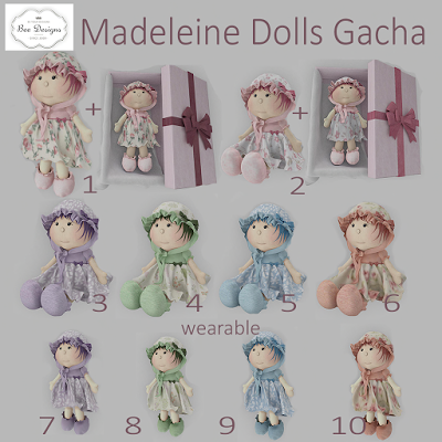 Bee Designs Madeleine Dolls Gacha 35L$(50%OFF).png