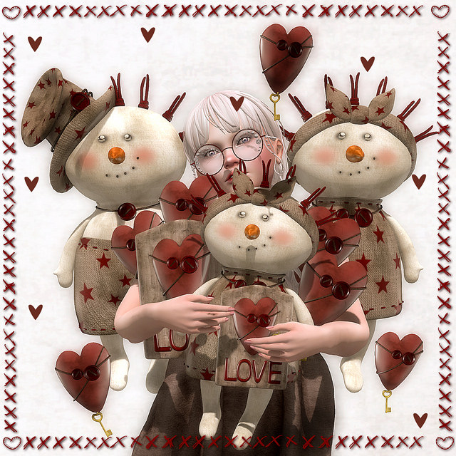 Les Sucreries De Fairy - Cute Primitive Love gacha display - SaNaRae.jpg