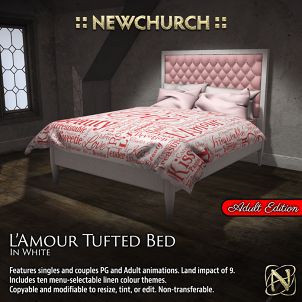 NEWCHURCH l'amour-bed-adult 438L$(50%OFF).png