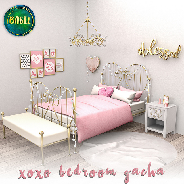 BASIL XOXO BEDROOM GACHA GACHA GARDEN LTD