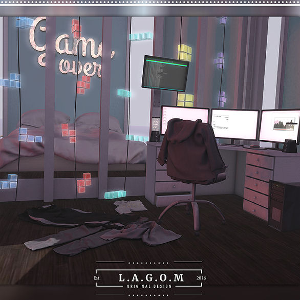 Lagom - Game Over gacha Display - The Gacha Garden.jpg