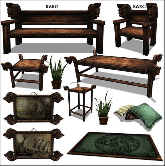 Moonlight Shadow - Viking Living Room Set gacha KEY - The Gacha Garden.jpg