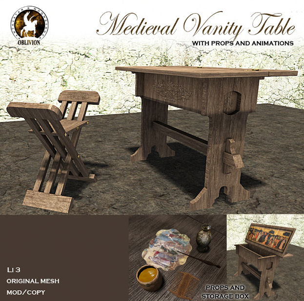F&M - Medieval Vanity Table - We heart Roleplay.jpg