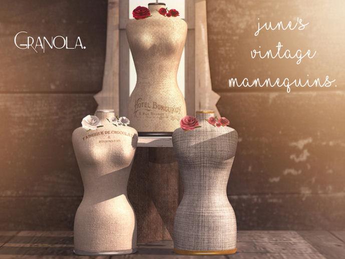 Granola. - Junes Vintage Mannequins - TLC.jpg