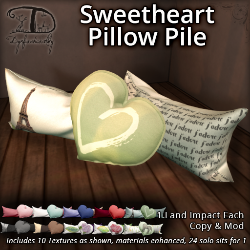 Dysfunctionality - Sweetheart Pillow Pile - XOXO Event.png