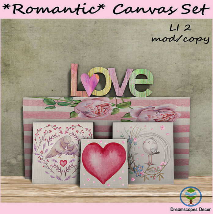 Dreamscapes - Romantic Canvas Set - VIP Group Gift.jpg