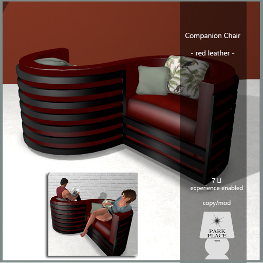 13022018 [Park Place] Companion Chair - Red Leather Swank.jpg