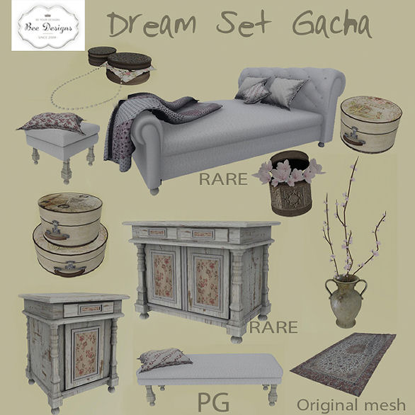 Bee Designs - Dream Set gacha - HELLO TUESDAY.jpg