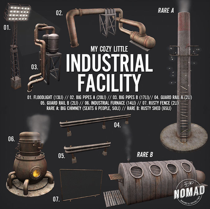 NOMAD - My Cosy Little Industrial Facility gacha - The Arcade March 2018.jpg